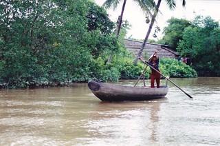 Mekong delta river boat, Can Tho, Vietnam