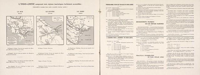 Indo-Chine Franc̜aise (4) - Brochure quảng bá du lịch Đông Dương