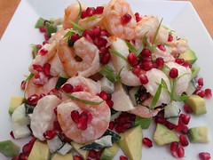 NOT YOUR TRADITIONAL THANKSGIVING DINNER ……..SHRIMP AND POTATO SALAD