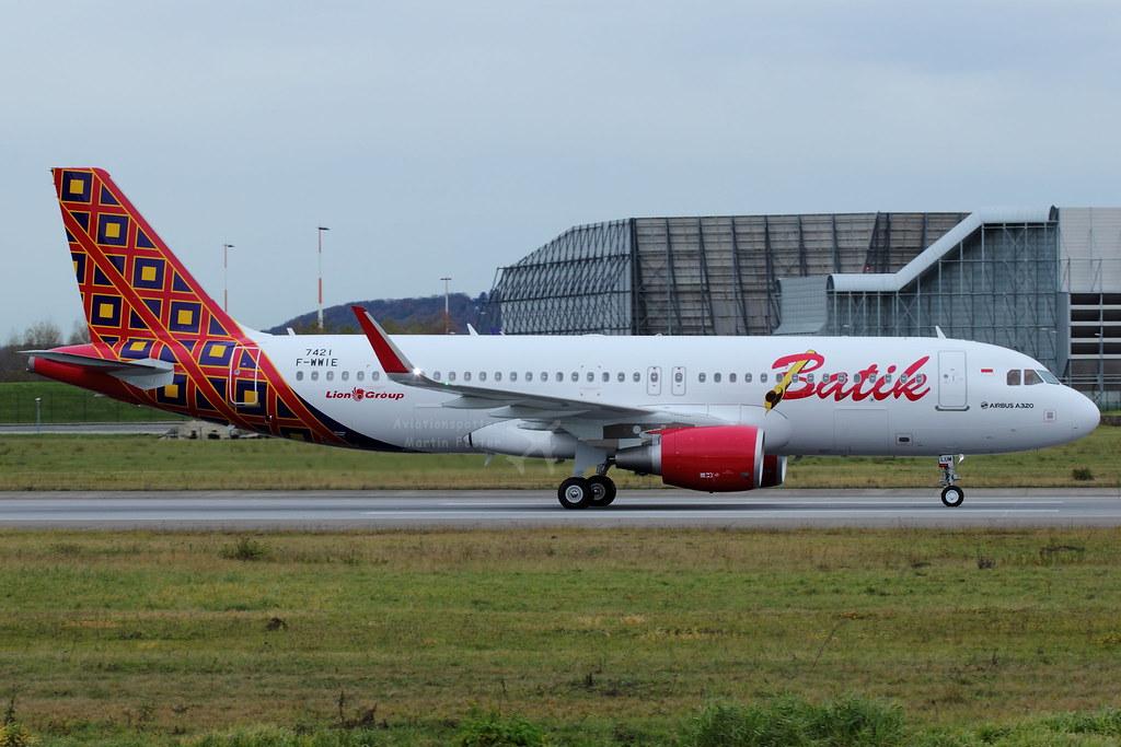 PK-LUM - A320 - Batik Air