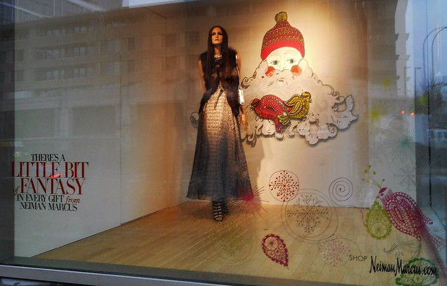 Neiman Marcus Christmas Window at The Bravern in Bellevue, WA