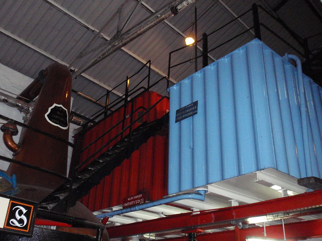 Wash receiver at Springbank distillery