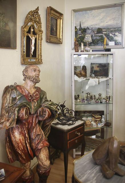 Antiques / Brocante shop @ Bagnoles-de-l'Orne