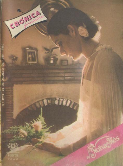 Crónica Feminina Nº 1239, Agosto 21 1980 - capa