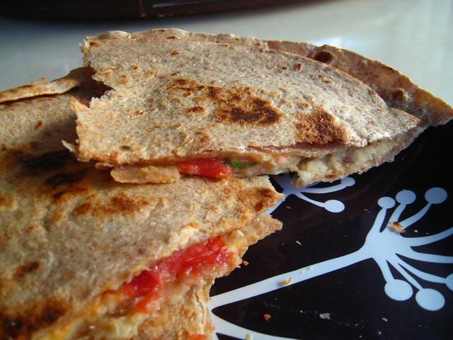 The Vegan Table: No-Queso Quesadillas