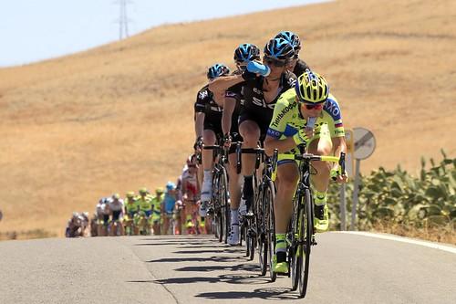 Dos Hermanas recibirá esta tarde a la Vuelta Ciclista a España