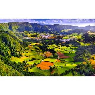 Азоры - вулканические острова. Все долины и озёра - кратеры древних вулканов.  #Azores #Азоры #Атлантика #yachtschool #sailing #sailingschool #yacht #yachting #яхтдрим #яхтинг #яхтклуб #yachtlife