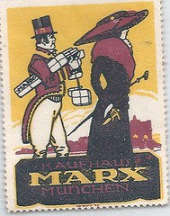 11740956950  Munich Germany Jewish Marx Store Stamp