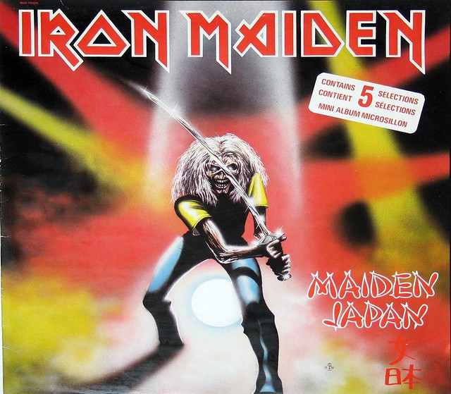"IRON MAIDEN MAIDEN JAPAN 12"" Vinyl LP"