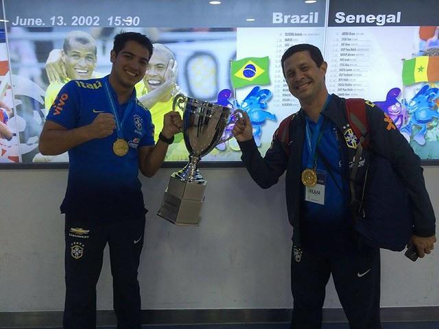 Guilherme Bianchi - Fisioterapeuta do Botafogo