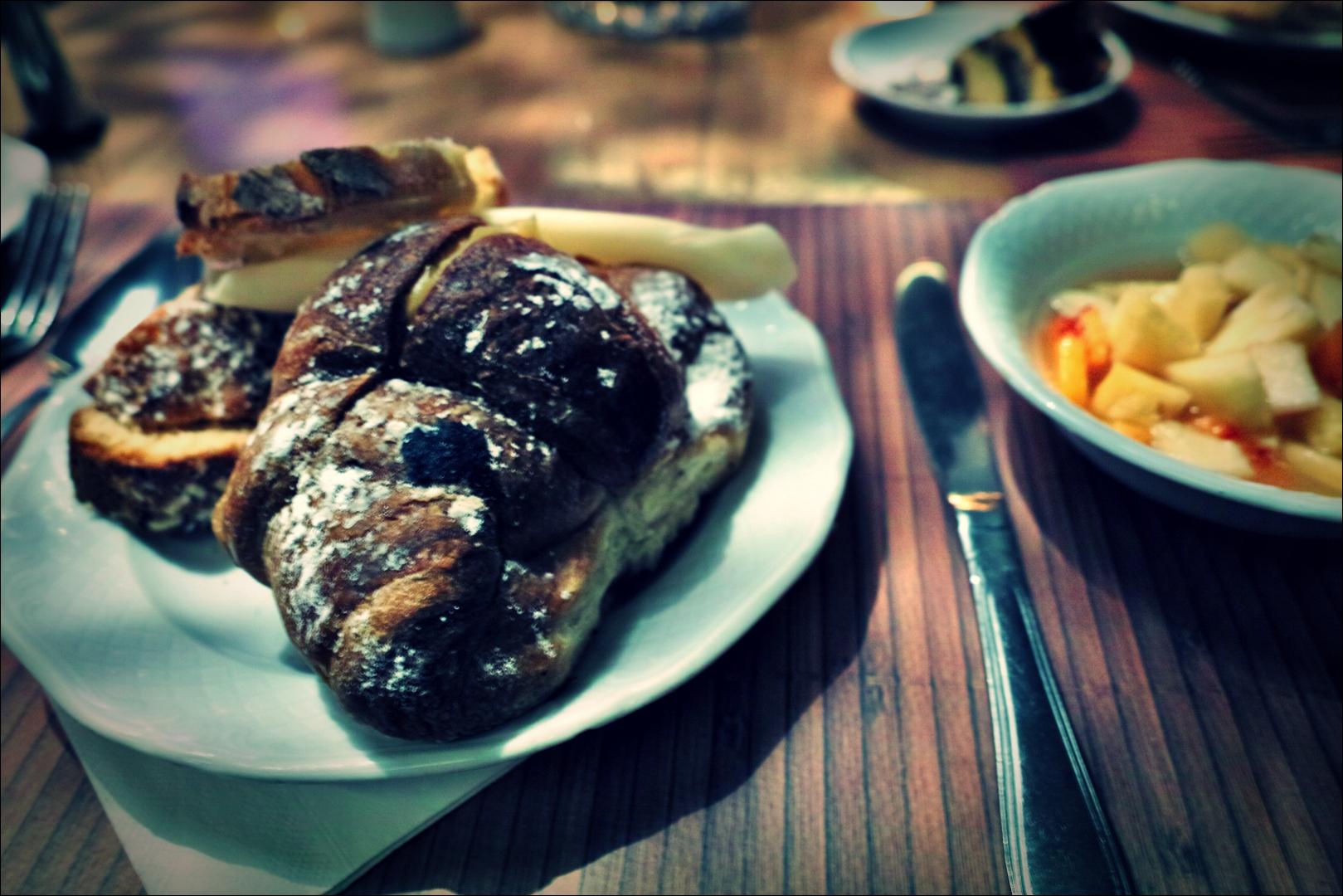 아침 식사-'로마 바티칸 산 발렌티노 호텔'