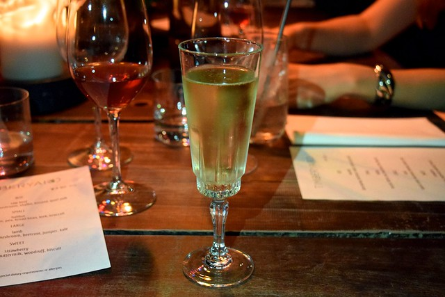 Nyetimber at Timberyard, Edinburgh