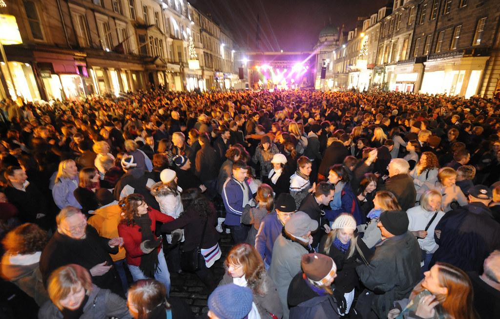 Festivities on George Street