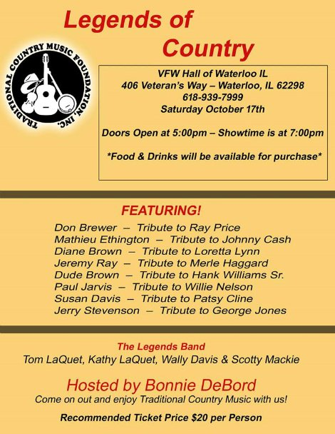 Legends of Country 10-17-15