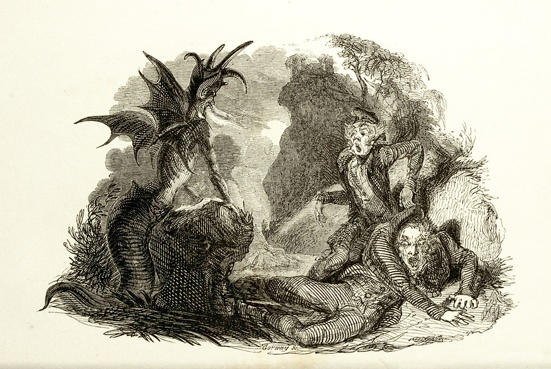 "Thomas Landseer - Illustrations from ""Tam O'Shanter and Souter Johnny, A Poem,"" by Robert Burns, 1830 (6)"