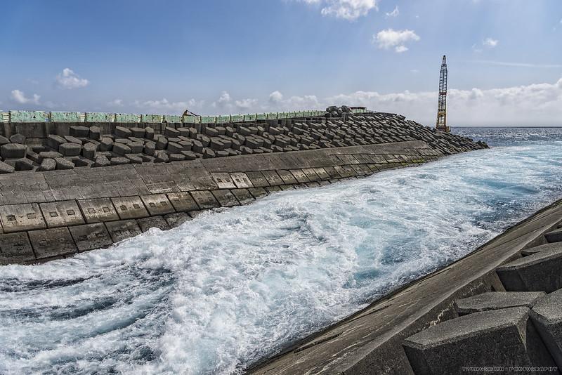 核三廠出水口
