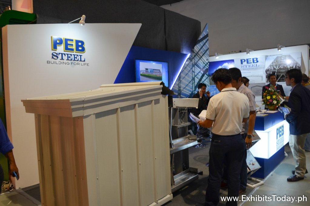 Peb Steel Exhibit Stand