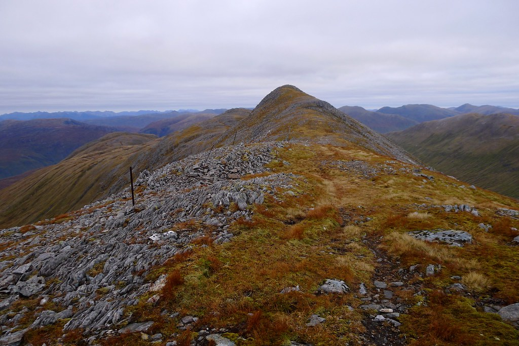 The ridge to Stuc Bheag