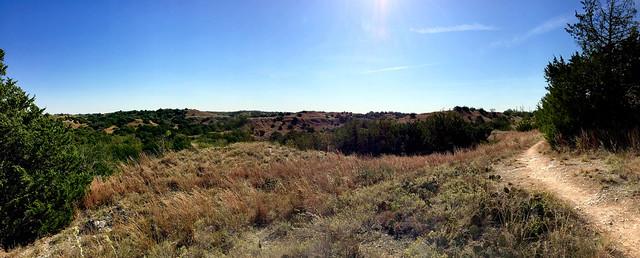 South trail vista