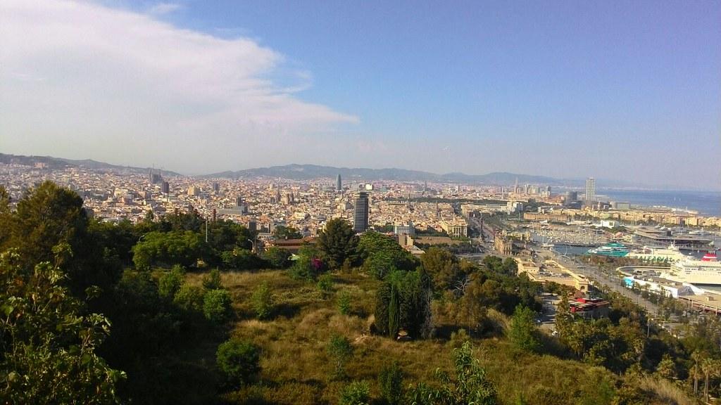 Vista dal Montjuïc