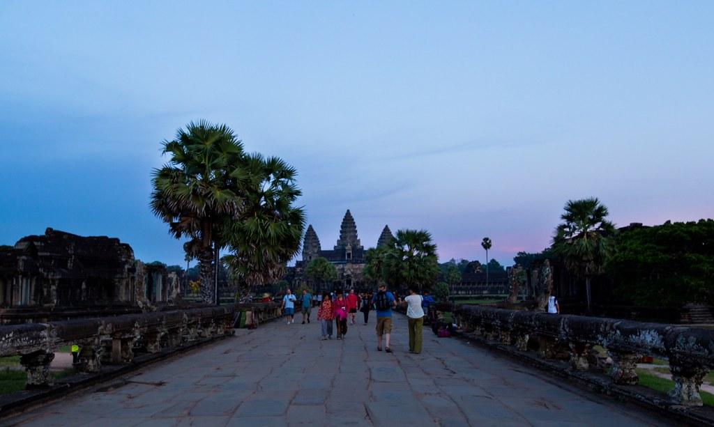 Angkor Wat Sunset-2275