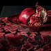 Pomegranate on Cut Velvet by suzanne.gibson