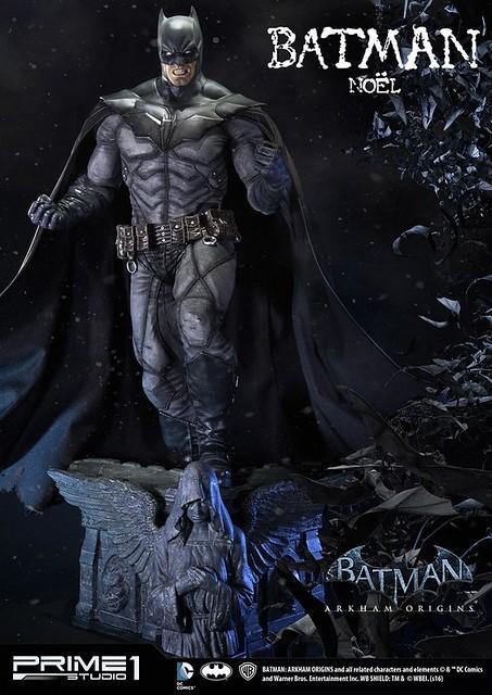 Prime 1 Studio 阿卡漢起源【蝙蝠俠:聖誕頌歌】Batman: Arkham Origins 1/3 比例超巨大全身雕像