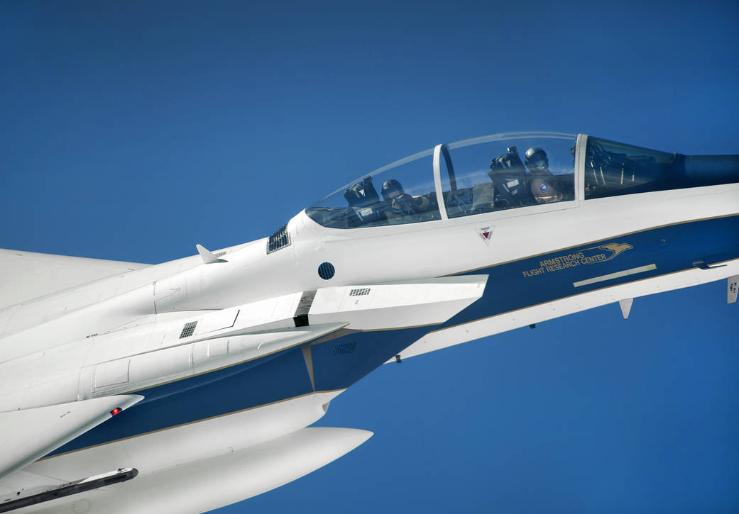 Armstrong Flight Research Center's F-15D Eagle Follows OLYMPEX Science Mission