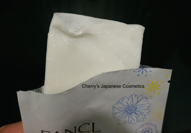 Fancl Whitening sheet