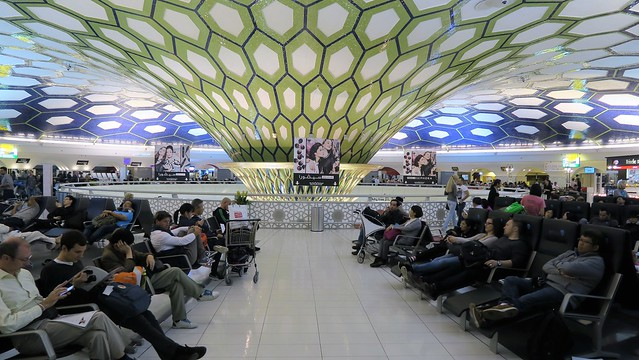 terminal 1 seating abu dhabi airport