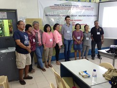2015-11-27~29 Philippines: Founding of the Migrant Coordinating Group-Western Visayas (MCG-WV)
