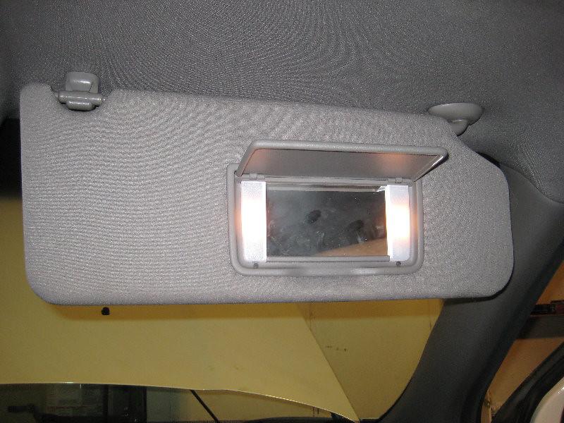 2009-2015 Honda Pilot Sun Visor Vanity Mirror   Lights - C…  253f790a831