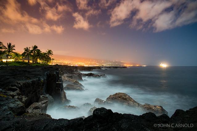 Kona Coast at Night