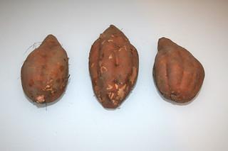 04 - Zutat Süßkartoffeln / Ingredient yams