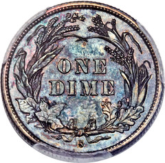 1894-S dime reverse