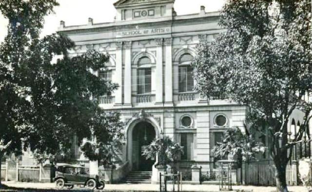 Maryborough School of Arts in Kent Street - possibly 1920s