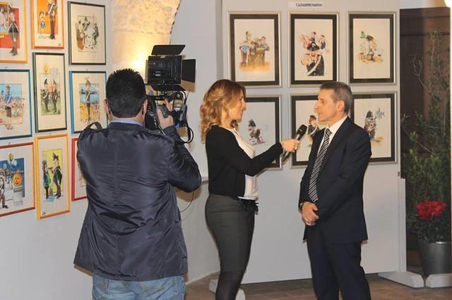 Casamassima-Il nuovo calendario satirico dedicato all'Arma presentato dal suo autore Antonio Mariella (12)