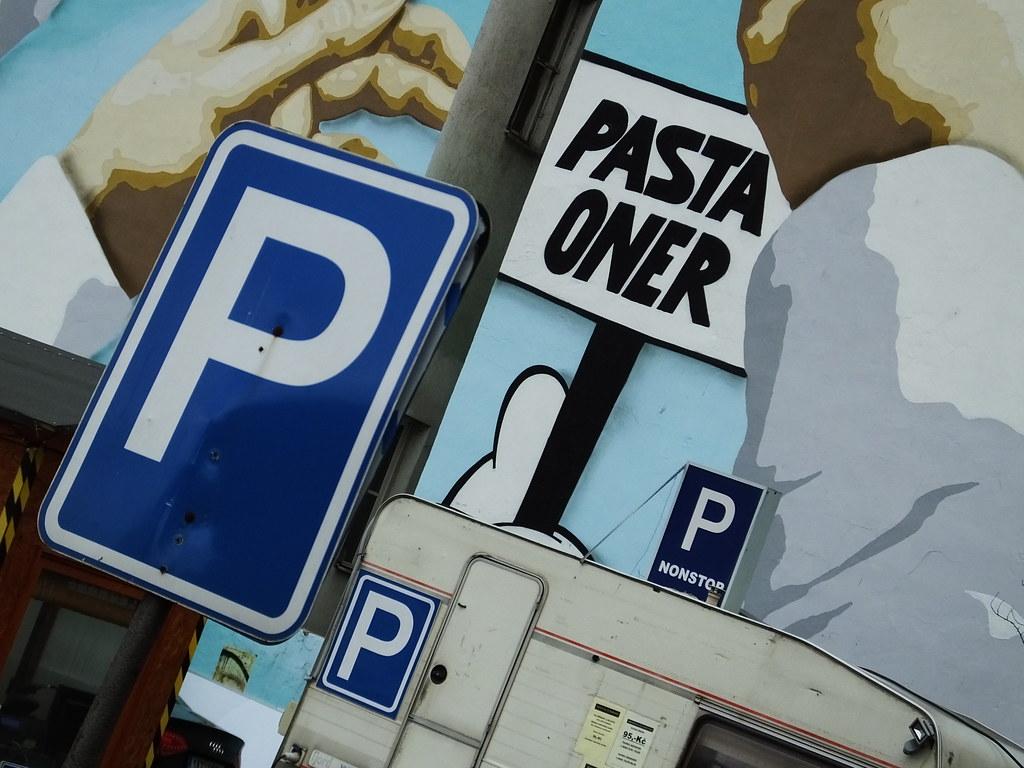 Prague: Pasta Oner street art