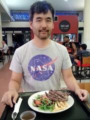 Cairns Night Markets - La Cucina: Kangaroo Steak
