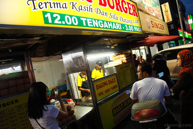 Daily Burger Gombak Customers