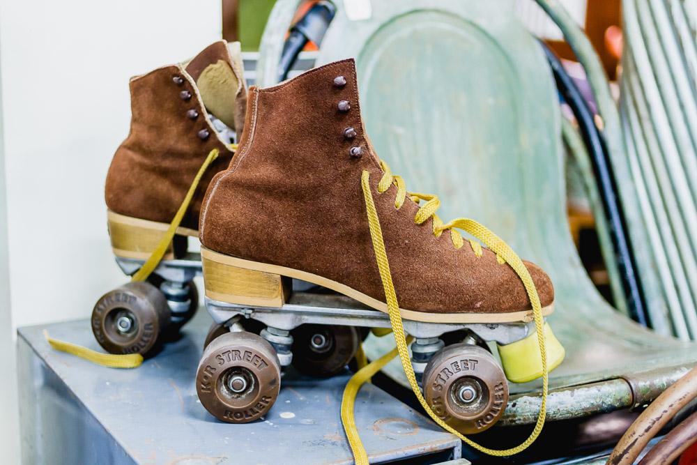 vintage shops newcastle rollerskates