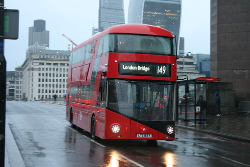 Arriva London LT567 on Route 149, London Bridge