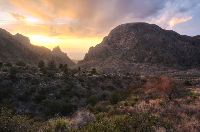 Chisos Basin Sunset