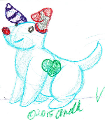 12.13.15 - Snow Dog