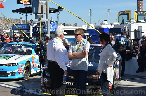 Bill Elliott and Rick Hendrick