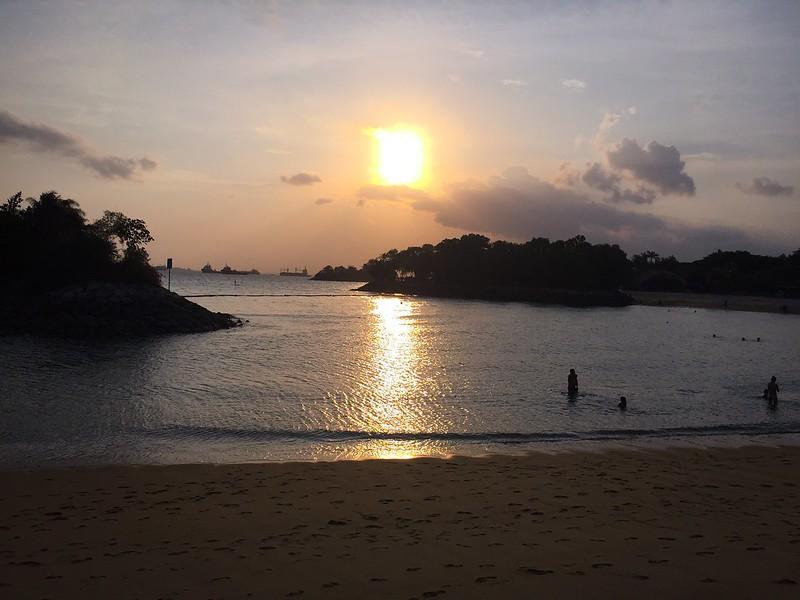 Palawan Beach Sunset, Sentosa Island, Singapore - 3