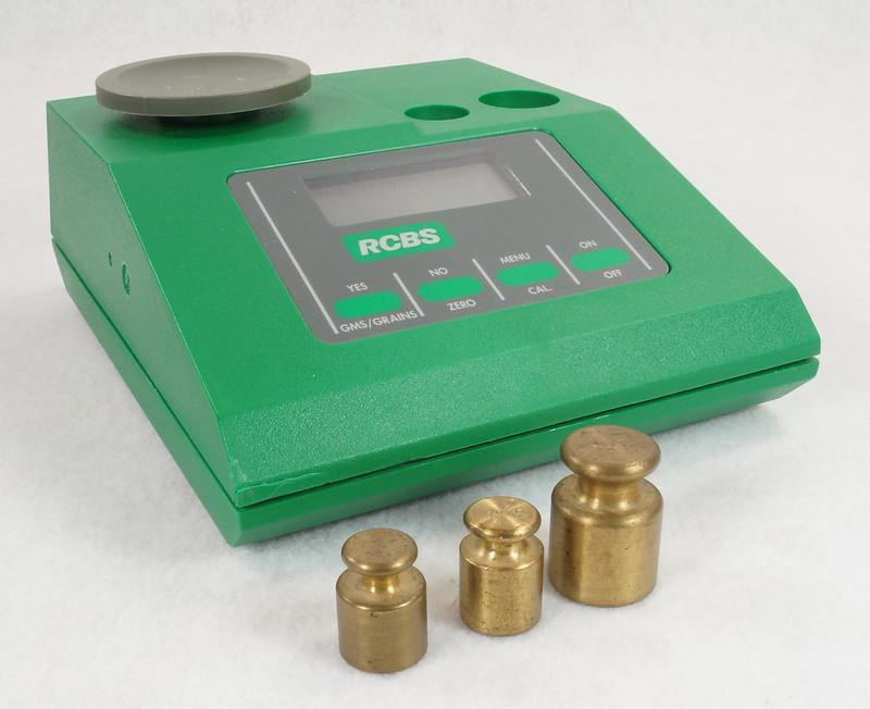 RD14599 RCBS PACT Electronic Digital Precision Powder Dispenser & Scale RD14598 DSC06345