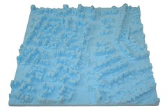 blue model