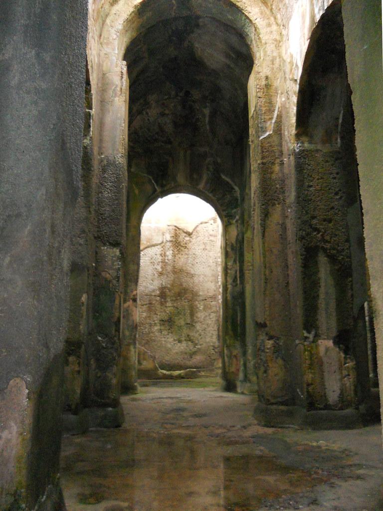 Odeon or agrippina tomb naples italy tripcarta - Villa mirabilis piscina ...