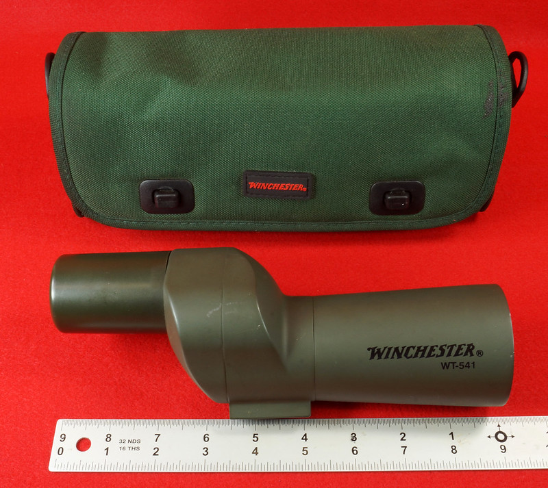 RD14520 Winchester WT-541 Spotting Scope with Bag DSC05894
